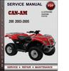 Thumbnail Can-Am 200 2003-2005 Factory Service Repair Manual Download Pdf