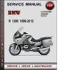 Thumbnail BMW R 1200 1999-2012 Factory Service Repair Manual Download Pdf
