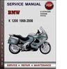 Thumbnail BMW K 1200 1998-2008 Factory Service Repair Manual Download Pdf