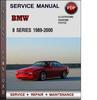 Thumbnail BMW 8 Series 1989-2000 Factory Service Repair Manual Download Pdf