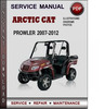 Thumbnail Arctic Cat Prowler 2007-2012 Factory Service Repair Manual Download Pdf