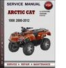 Thumbnail Arctic Cat 1000 2000-2012 Factory Service Repair Manual Download Pdf
