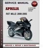 Thumbnail Aprilia RST Mille 2000-2005 Factory Service Repair Manual Download Pdf