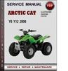 Thumbnail Arctic Cat Y6 Y12 2006 Factory Service Repair Manual PDF