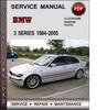 Thumbnail BMW 3 Series 1984-2005 Factory Service Repair Manual PDF
