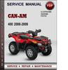 Thumbnail Can-Am 400 2006-2009 Factory Service Repair Manual PDF