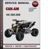 Thumbnail Can-Am 450 2005-2008 Factory Service Repair Manual PDF