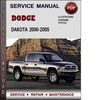 Thumbnail Dodge Dakota 2000-2005 Factory Service Repair Manual PDF