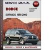 Thumbnail Dodge Durango 1998-2005 Factory Service Repair Manual PDF