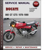 Thumbnail Ducati 860 GT GTS 1976-1999 Factory Service Repair Manual PDF
