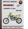 Thumbnail Husaberg FC 550-4 2000-2004 Factory Service Repair Manual PDF