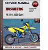 Thumbnail Husaberg FE 501 2000-2004 Factory Service Repair Manual PDF