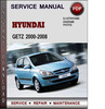 Thumbnail Hyundai Getz 2000-2008 Factory Service Repair Manual PDF