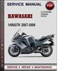 Thumbnail Kawasaki 1400GTR 2007-2009 Factory Service Repair Manual Download PDF