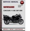 Thumbnail Kawasaki CONCOURS 14 ABS 2007-2009 Factory Service Repair Manual Download PDF