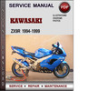 Thumbnail Kawasaki ZX9R 1994-1999 Factory Service Repair Manual Download PDF