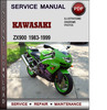 Thumbnail Kawasaki ZX900 1983-1999 Factory Service Repair Manual Download PDF