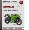 Thumbnail Kawasaki ZX10R Ninja 2000-2011 Factory Service Repair Manual Download PDF