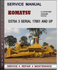 Thumbnail Komatsu D375A 3 Serial 17001 and up Factory Service Repair Manual Download PDF