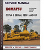 Thumbnail Komatsu D375A 5 Serial 18001 and up Factory Service Repair Manual Download PDF