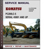 Thumbnail Komatsu PC200LC-5 Serial 45001 and up Factory Service Repair Manual Download PDF
