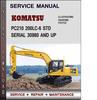 Thumbnail Komatsu PC210 200LC-6 STD Serial 30980 and up Factory Service Repair Manual Download PDF