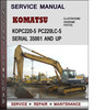 Thumbnail Komatsu PC220-5 PC220LC-5 Serial 35001 and up Factory Service Repair Manual Download PDF