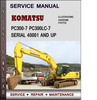 Thumbnail Komatsu PC300-7 PC300LC-7  Serial 40001 AND UP Factory Service Repair Manual Download PDF