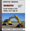 Thumbnail Komatsu PC230 PC230LC-6 STD Serial 10177 and up Factory Service Repair Manual Download PDF