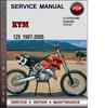 Thumbnail KTM 125 1997-2005 Factory Service Repair Manual Download Pdf