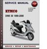 Thumbnail Kymco Dink 50 1999-2008 Factory Service Repair Manual Download PDF