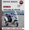 Thumbnail Kymco Grand Dink 250 1999-2008 Factory Service Repair Manual Download PDF