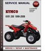 Thumbnail Kymco KXR 250 1999-2008 Factory Service Repair Manual Download PDF