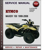 Thumbnail KYMCO Maxer 150 1999-2008 Factory Service Repair Manual Download PDF