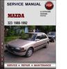 Thumbnail Mazda 323 1988-1992 Factory Service Repair Manual Download Pdf