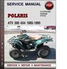 Thumbnail Polaris ATV 300 4x4 1985-1995 Factory Service Repair Manual Download Pdf