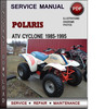 Thumbnail Polaris ATV Cyclone 1985-1995 Factory Service Repair Manual Download Pdf