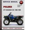 Thumbnail Polaris ATV Magnum 2x4 1985-1995 Factory Service Repair Manual Download Pdf