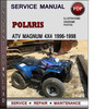 Thumbnail Polaris ATV Magnum 4x4 1996-1998 Factory Service Repair Manual Download Pdf