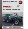 Thumbnail Polaris ATV Magnum 6x6 1996-1998 Factory Service Repair Manual Download Pdf