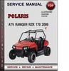Thumbnail Polaris ATV Ranger RZR 170 2009 Factory Service Repair Manual Download Pdf