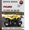 Thumbnail Polaris ATV Sport 400 1996-1998 Factory Service Repair Manual Download Pdf