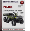 Thumbnail Polaris ATV Sportsman 6X6 800 EFI 2009 Factory Service Repair Manual Download Pdf