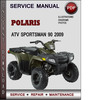 Thumbnail Polaris ATV Sportsman 90 2009 Factory Service Repair Manual Download Pdf