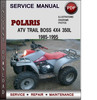 Thumbnail Polaris ATV Trail Boss 4x4 350L 1985-1995 Factory Service Repair Manual Download Pdf