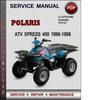 Thumbnail Polaris ATV Xpress 400 1996-1998 Factory Service Repair Manual Download Pdf