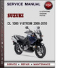 Thumbnail Suzuki DL 1000 V-Strom 2000-2010 Factory Service Repair Manual Download Pdf