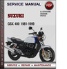 Thumbnail Suzuki GSX 400 1981-1999 Factory Service Repair Manual Download Pdf