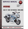 Thumbnail Suzuki GSX R 1300 Hayabusa 1999-2009 Factory Service Repair Manual Download Pdf
