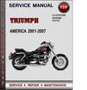Thumbnail Triumph America 2001-2007 Factory Service Repair Manual Download Pdf